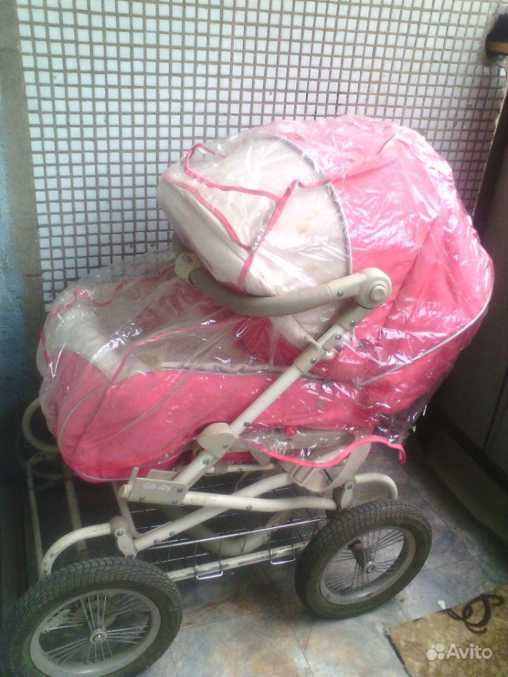 Коляска-трансформер geoby. продам коляску для девочки. Небесный фонарик &q