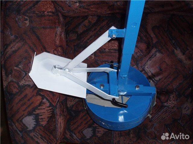 Самодельный ручной бур для устройства буронабивного
