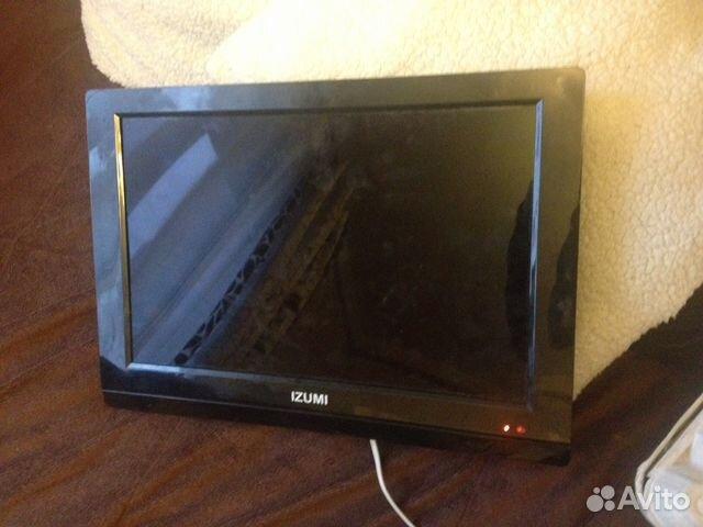 Продаю телевизор izumi 15 LED