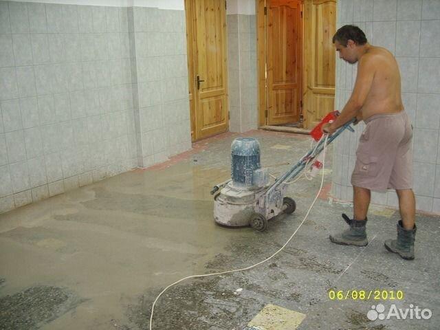 Шлифовка бетонных полов своими руками