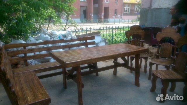 Столы стулья лавочки скамейки
