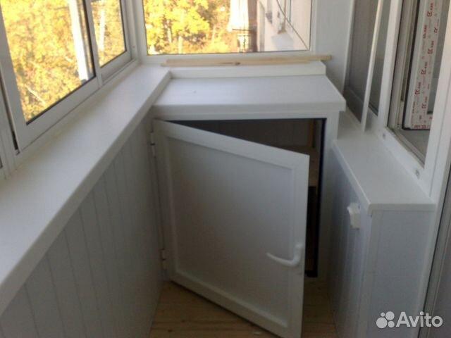 Шкафчик для лоджии