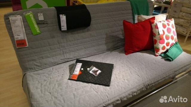 Серый раскладной диван Икеа купить в Москве на Avito - Объявления на сайте Avito