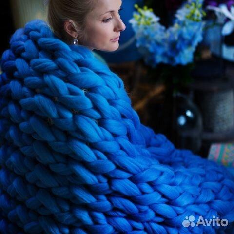 Толстая пряжа для ручного вязания меринос 405