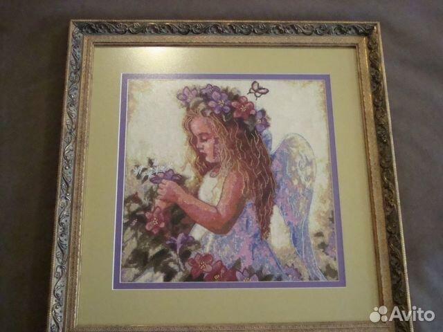 """картина """"Цветочный ангел"""""""