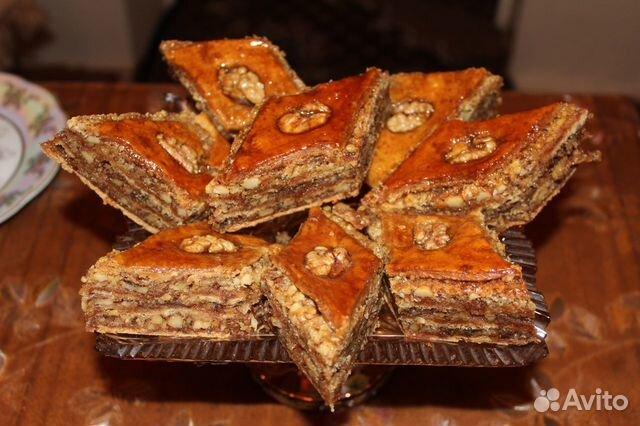 Домашние торты и восточные сладости
