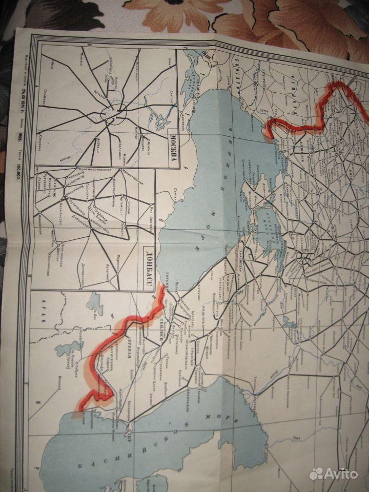 железных дорог СССР 1956