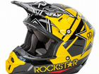 FLY racng Шлем кроссовый kinetic PRO rockstar