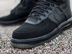 Мужские Nike Air Force 1 Lunar Duckboot черные