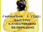Уничтожение(насекомых): тараканов, клопов, клещей