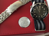 Omega Seamaster Diver 300M Co-Axial James Bond 007