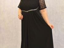 c5cc954a61c черное длинное кружевное платье - Купить одежду и обувь в Москве на ...