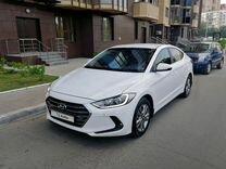 Hyundai Elantra, 2018 г., Москва