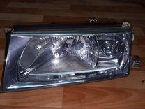 Фара левая Skoda Octavia A4 2000-2011