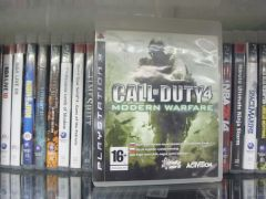 Диск PS-3 Call of Duty 4 б/у