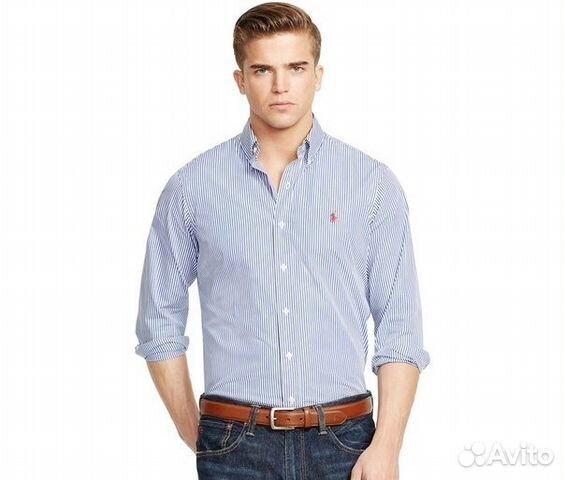 9119c77dc57 Мужская рубашка Polo by Ralph Lauren 52-54 размер купить в Санкт ...
