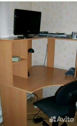 Стол письменный угловой для школьника  авито