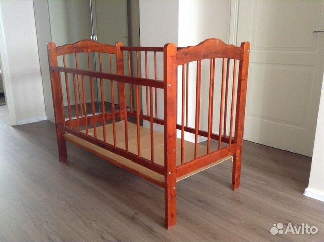 Детскую кроватку   б у отдам даром