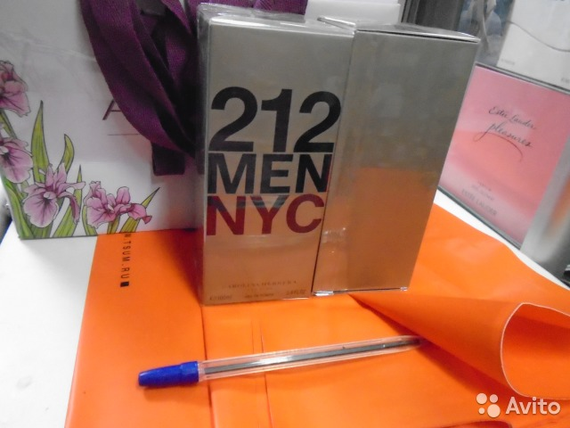 212 Men Carolina Herrera для мужчин 100ml EDT