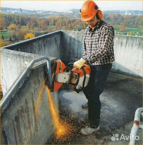 бетон распил