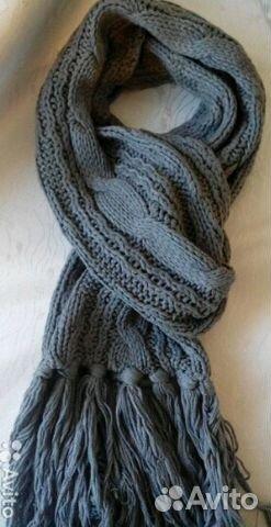 зимние вязаные шарфы купить в москве на Avito объявления на сайте