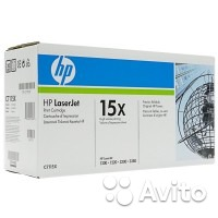 Картридж C7115X (№15X) оригинальный для HP LaserJe