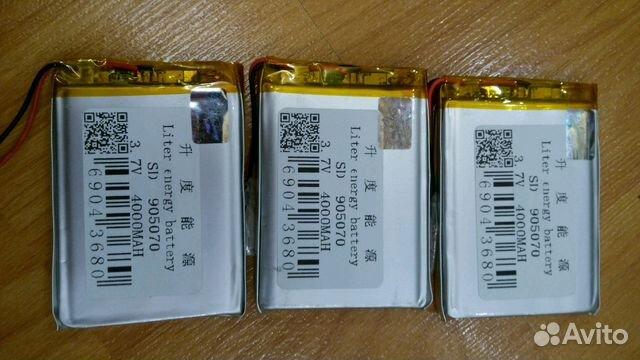 Акб литиевые для планшета, навигатора 89109731195 купить 2