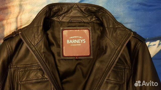 013f1b6f44d Натуральная кожаная куртка Barnes. Размер M-L