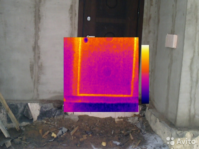 тепловизор бетон