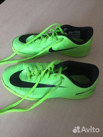 Футзалки Nike 35 размер, для мальчика 10-12 лет купить в Воронежской ... 66597beefc7