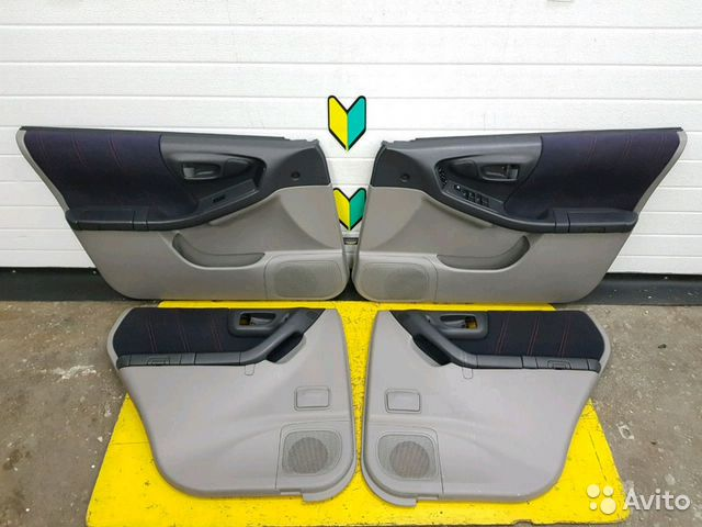 89625003353 Обшивка дверей комплект Subaru Forester, SF5, EJ20