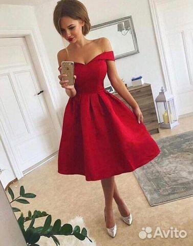 6df4475209c99cf Эффектное вечернее выпускное красное платье купить в Республике Крым ...
