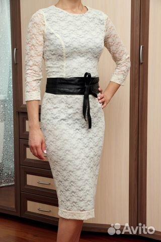 c5ff757be0a Кружевное белое платье Elena Shipilova