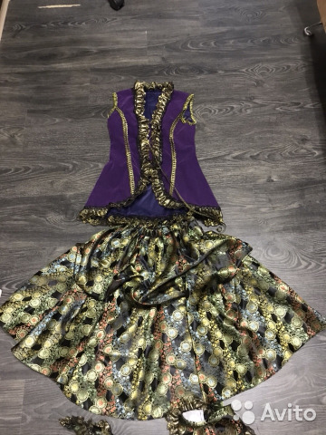 Карнавальный костюм (разбойница, пиратка) 89297844546 купить 2