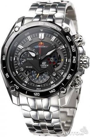 Casio EF-550rbsp-1AV Red Bull edition— фотография №1