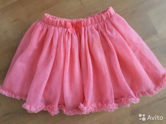 a031c2fc4bd Пышная юбка р.128 розовая