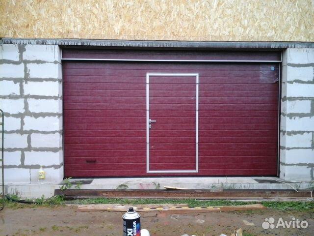 Заказать ворота на гараж в купить гараж пгт львовский