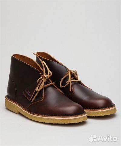 Imaginativo Político Penetrar  Clarks Originals - Desert Boot Leather Chestnut 41 купить в Москве | Личные  вещи | Авито