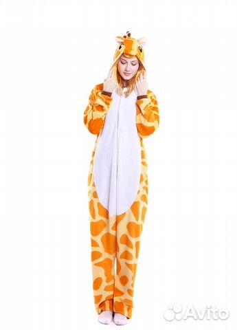 Кигуруми пижама жираф купить в Санкт-Петербурге на Avito ... 1844e9693d463