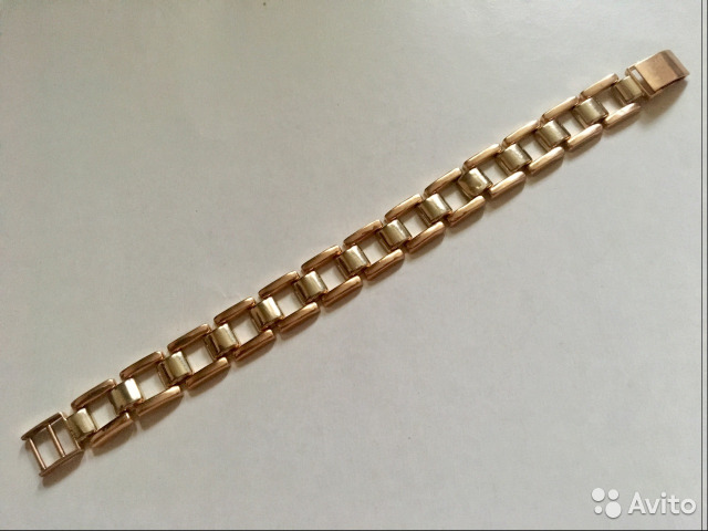 Золотой браслет 585 проба купить в Свердловской области на Avito ... 87f56e2e65c