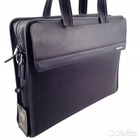 355c556481c3 Мужская сумка портфель Mont Blanc арт.6009 купить в Москве на Avito ...