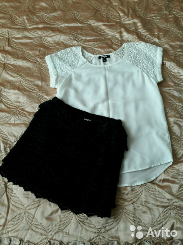 d830d95fb0f Блузка и юбка Jennyfer