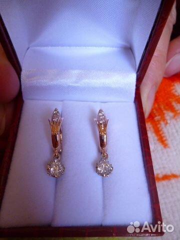 1f16fe1a88e8 Серьги с бриллиантами   Festima.Ru - Мониторинг объявлений