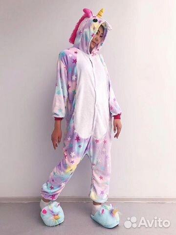Пижама костюм кигуруми взрослый и детский купить в Бурятии на Avito ... 6a9c7b00d85b8