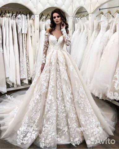 04b4a47f62f Свадебное платье со шлейфом 2019 купить в Ростовской области на ...