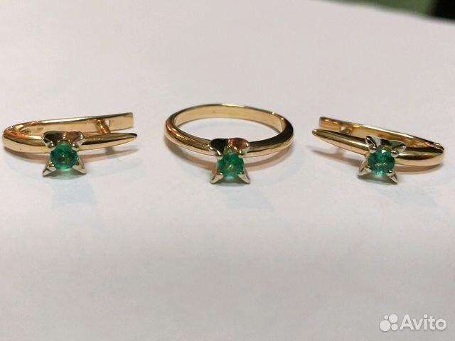 a6c2932ea625 Продам кольцо и серьги с изумрудами   Festima.Ru - Мониторинг объявлений