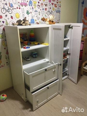 шкаф стеллаж детский икеа Ikea Festimaru мониторинг объявлений