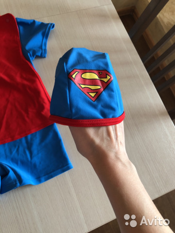 Suit for swimming, worn with 2 to 4 years