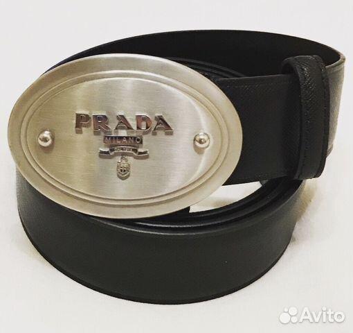 0088df04c824 Ремень мужской новый Prada оригинал купить в Москве на Avito ...