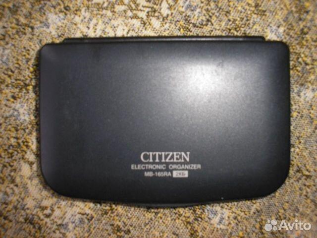 citizen mb 165ra инструкция